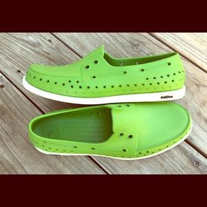 SOLD New without box Native Boat Shoe slip on